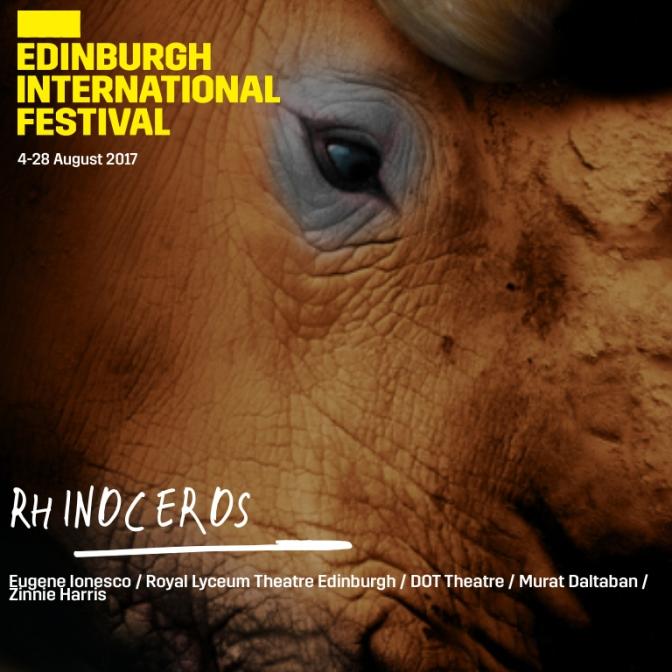 Gergedanlar, Lyceum Edinburgh 2017/18 Sezon Programında