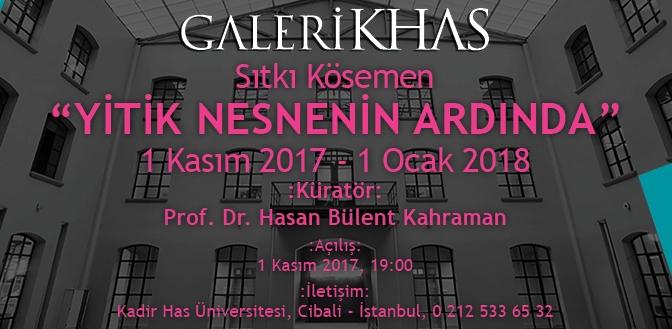"""Galeri KHAS yeni döneme Sıtkı Kösemen'in """"Yitik Nesne Ardında"""" sergisiyle giriyor"""