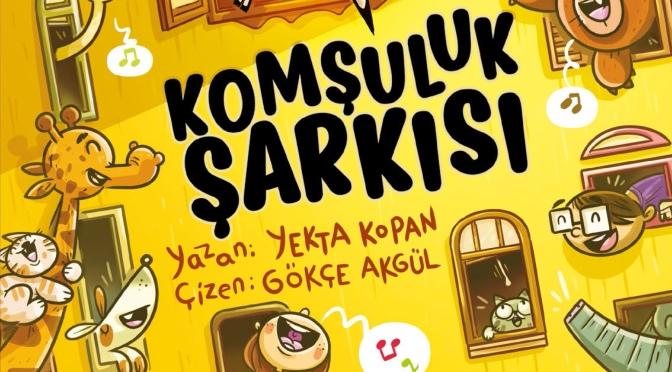 15. İstanbul Bienali'nin çocuk kitabı OPTİ İLE PESİ: KOMŞULUK ŞARKISI çıktı