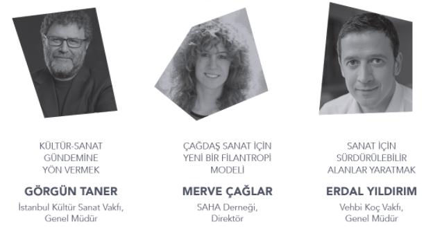 """""""Filantropi ve Kültür-Sanat İlişkisi: Birlikte Alanlar Yaratmak"""" konuşması TÜSEV'de"""