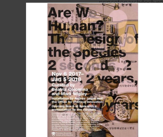 3. İstanbul Tasarım Bienali'nin bir bölümü Princeton'da gösterilecek