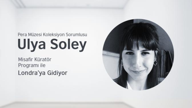 """British Council """"Misafir Küratör Programı''nın ikinci misafiri Ulya Soley"""