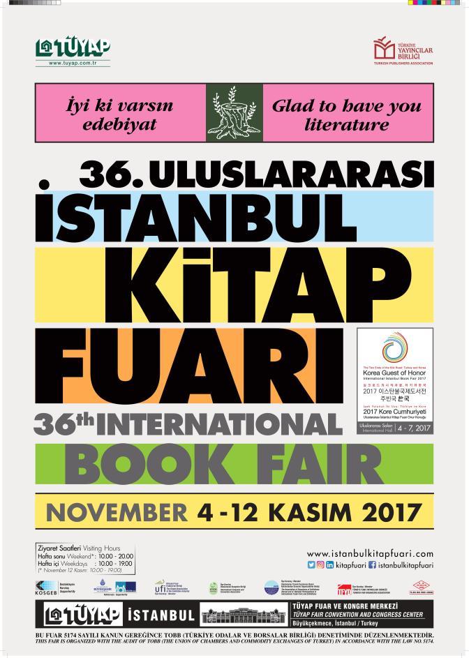 Uluslararası İstanbul Kitap Fuarı 36. kez kapılarını açtı