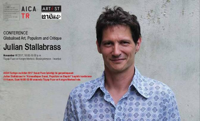 """""""Küreselleşen Sanat, Popülizm ve Eleştiri"""" konferansı 11 Kasım'da TÜYAP'ta"""