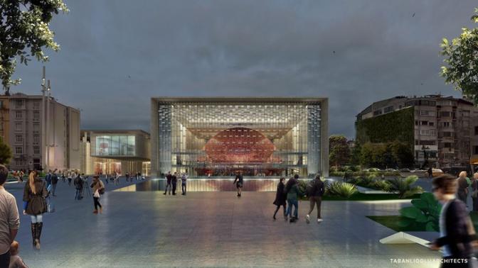 AKM'nin yeni projesi tanıtıldı