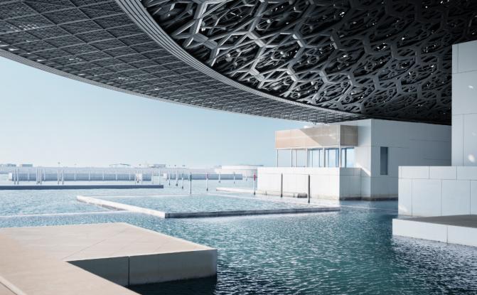Louvre Abu Dhabi açıldı