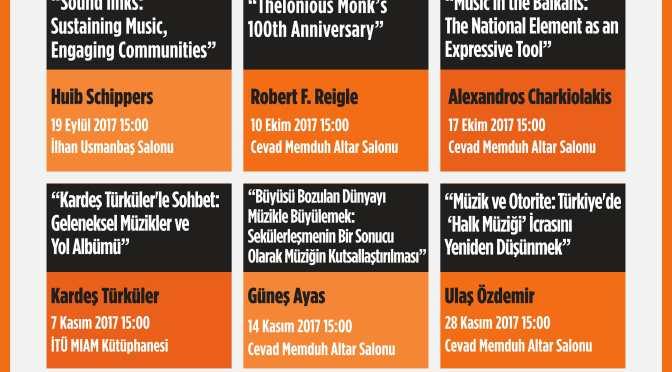 "İTÜ Miam'dan ""Müzik ve İfade"" seminerleri"