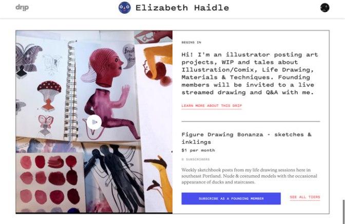 Kickstarter sanatçıların bağış toplaması için yeni bir platformu piyasaya sürdü