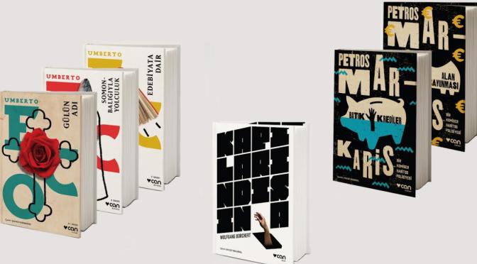 Can Yayınları'nın kapaklarına GMK'dan dört ödül