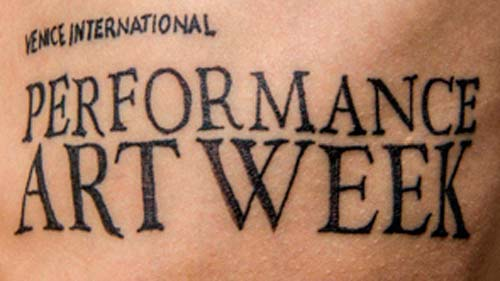 Performistanbul sanatçıları Venedik Uluslararası Performans Sanatları Haftası'nda