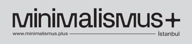 Kabak & LinveMonroe Creative Studio'dan yeni etkinlik serisi: minimalismus+