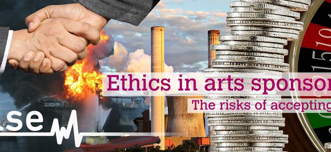 """""""Sanat Sponsorluğunda Etik"""" anketi"""
