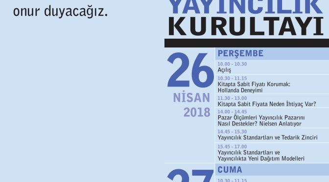 Türkiye Yayıncılık Kurultayı başlıyor
