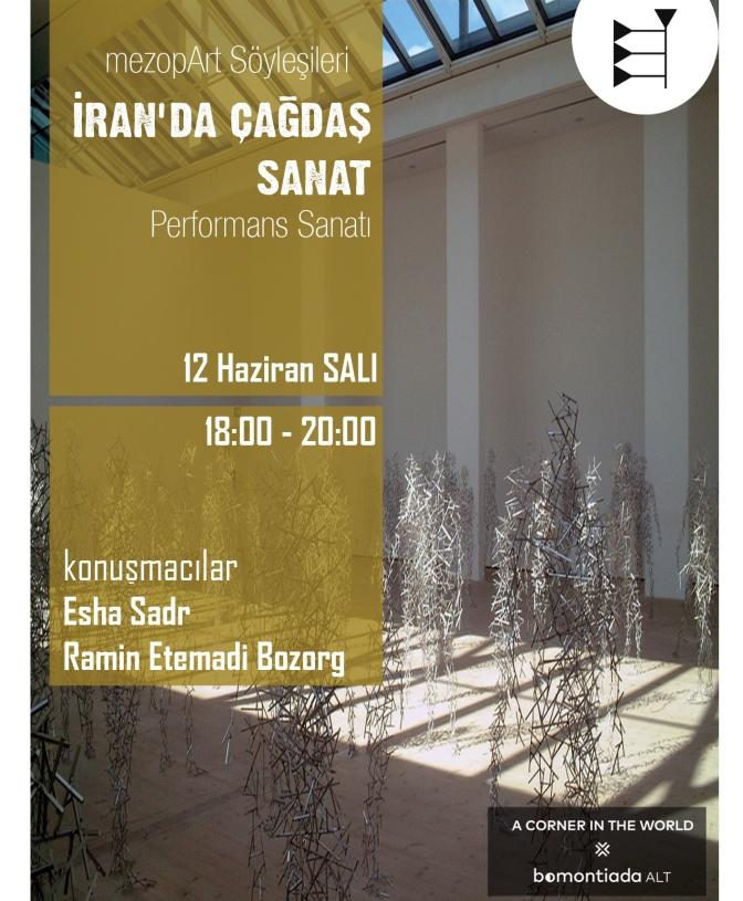 mezopArt'tan İran çağdaş sanatı üzerine söyleşi
