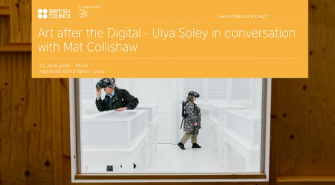 Dijitalden Sonra Sanat söyleşisi Yapı Kredi Kültür Sanat Loca'da