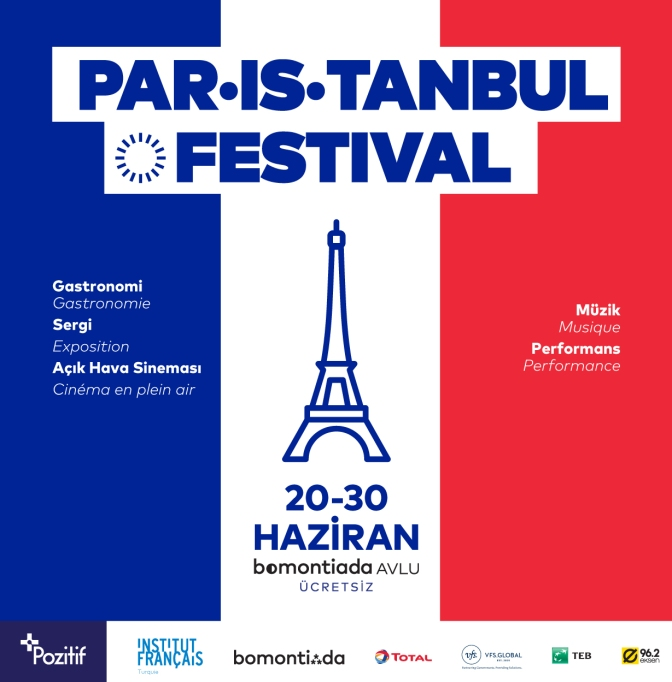 PAR-IS-TANBUL Festivali bomontiada'da