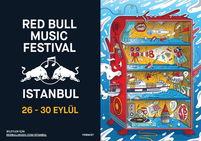 Red Bull Music Festival İstanbul Geliyor