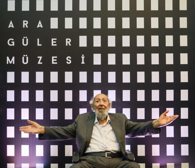 Ara Güler Müzesi bomontiada'da açıldı