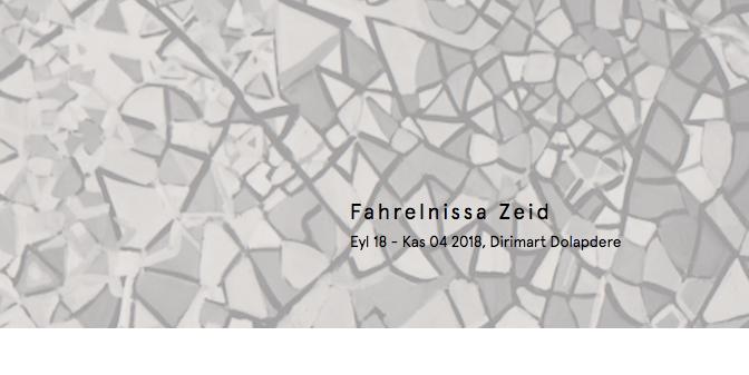 Fahrelnissa Zeid sergisi Dirimart Dolapdere'de