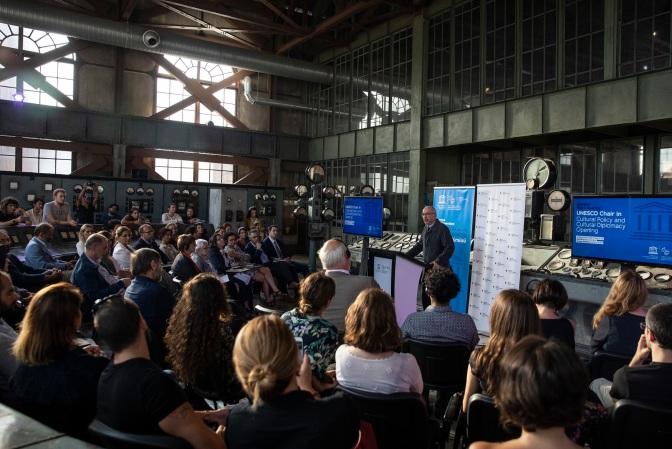 BİLGİ Kültür Politikası ve Kültürel Diplomasi UNESCO Kürsüsü açıldı