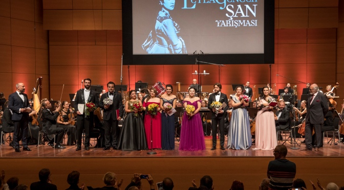 9. Leyla Gencer Şan Yarışması'nın kazananları belirlendi