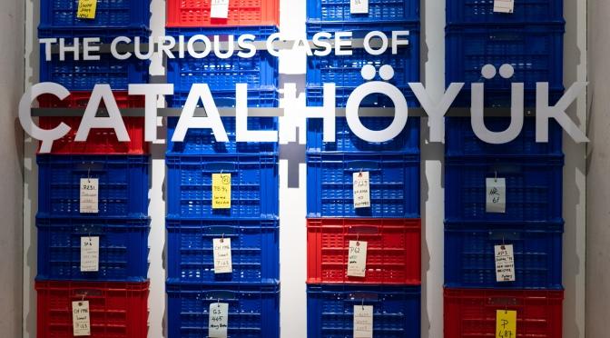 """""""Bir Kazı Hikâyesi: Çatalhöyük"""" sergisi Londra'da"""