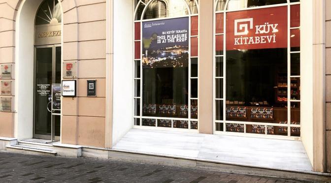 Koç Üniversitesi Yayınları'nın ilk kitabevi Beyoğlu'nda açıldı