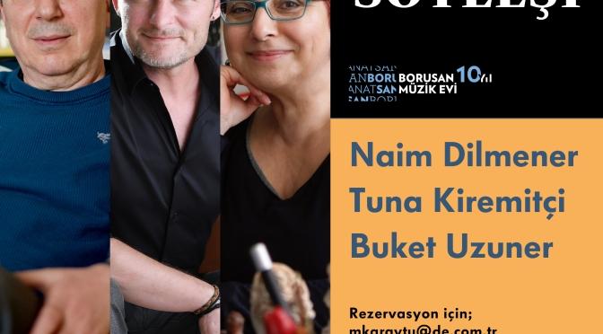 Borusan Müzik Evi'nin ev sahipliği yaptığı Doğan Kitap Söyleşileri başlıyor