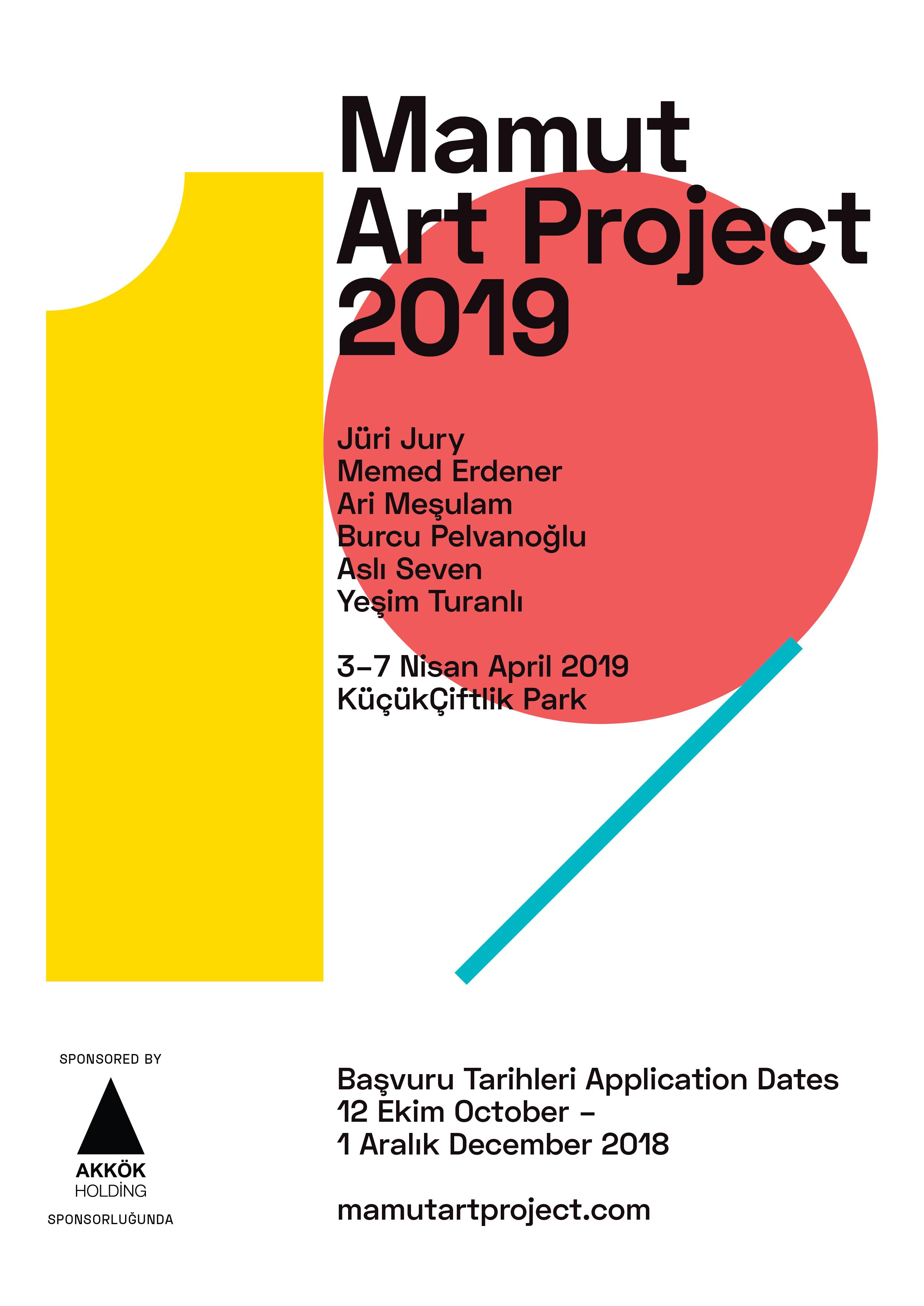 Mamut Art Project 2020 Basvuru