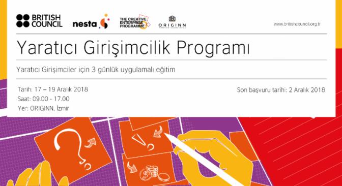 Nesta Yaratıcı Girişimcilik Programı'ndan açık çağrı