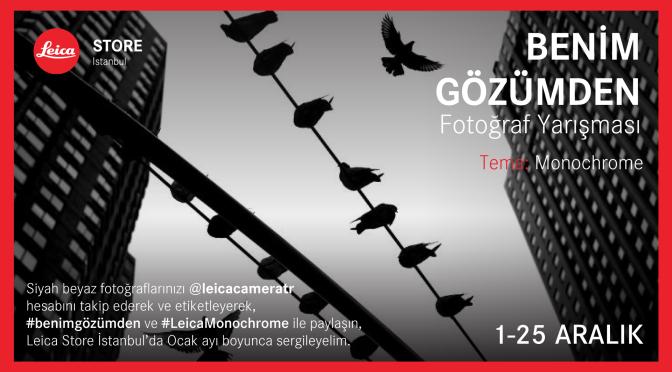 Leica Store Istanbul'dan fotoğraf yarışması
