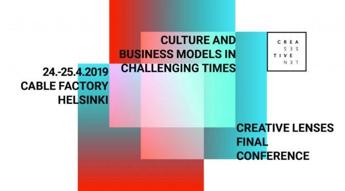 """Culture and Business Models in Challenging Times"" Helsinki'de gerçekleşiyor"
