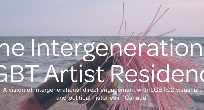 The Intergenerational LGBT Artist Residency'den açık çağrı