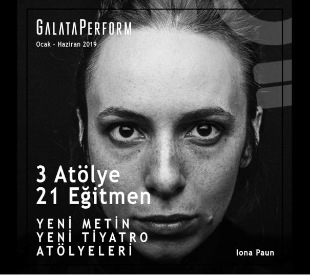 GalataPerform atölyeleri Ocak ayında başlıyor
