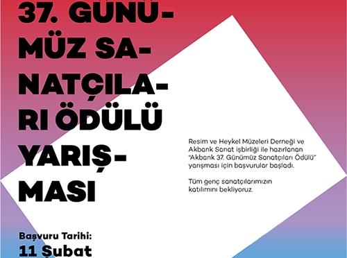 Akbank 37. Günümüz Sanatçıları Ödülü Yarışması için başvurular başladı
