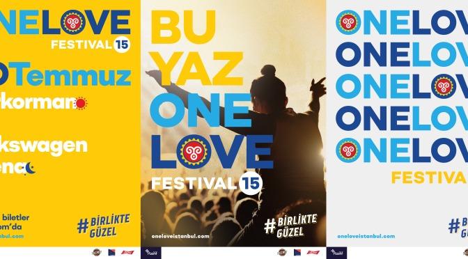 One Love Festival 15. yılında evine dönüyor