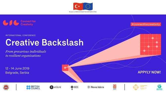 Connect for Creativity, Creative Backslash adındaki ilk uluslararası konferansını duyurdu