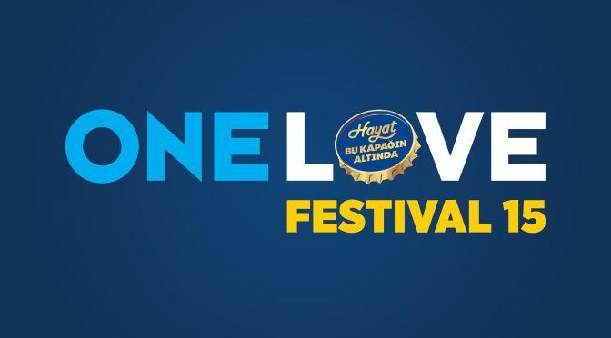 One Love Festival 15'in programı açıklandı