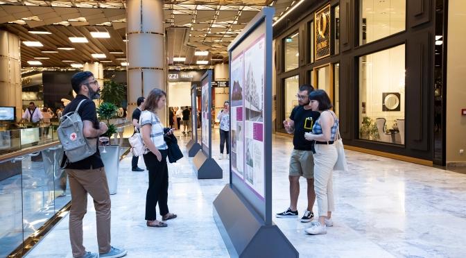 Arkitera Mimarlık Yıllığı sergisi HOM Design Center'da