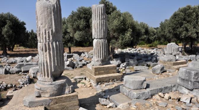 Türkiye İş Bankası'ndan Teos arkeolojik kazılarına destek