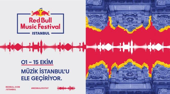 Red Bull Music Festival Istanbul geliyor