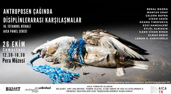 AICA Türkiye'den 16. İstanbul Bienali'ne özel panel serisi