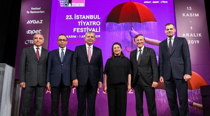 23. İstanbul Tiyatro Festivali ödülleri verildi