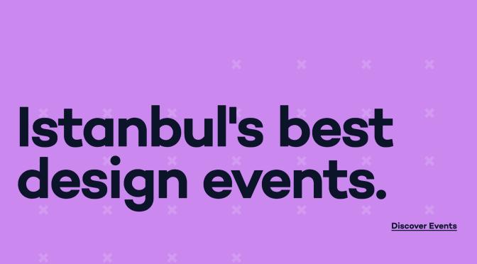 İstanbul'daki tasarım etkinlikleri Emre Erbirer'in kürasyonuyla Design Calendar Istanbul'da