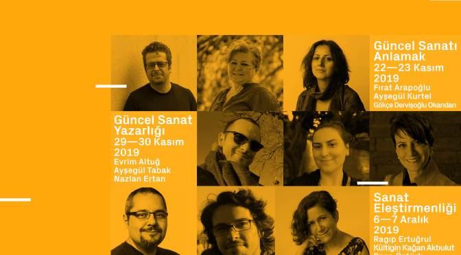 """Galeri A Güncel Sanat Merkezi'nden yeni proje: """"Güncel Sanat Atölyeleri: Anlama ve Yazma"""""""