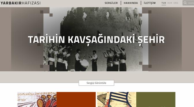 Diyarbakır Hafızası projesinin internet sitesi yayında