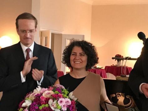 Asena Günal'a Alman-Fransız İnsan Hakları ve Hukuk Devleti Ödülü