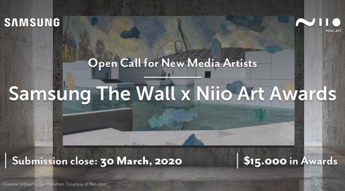 Samsung ve Niio Art'tan dijital sanat yarışması