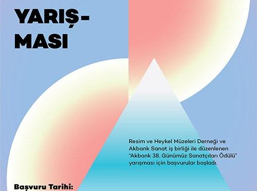 Akbank 38. Günümüz Sanatçıları Ödülü için başvurular başladı