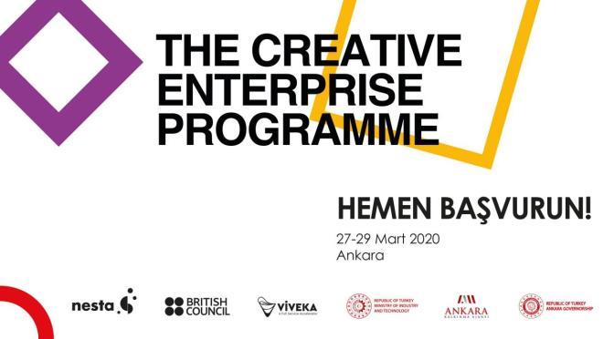 Ankara'daki Yaratıcı Girişimcilik Programı için başvurular başladı